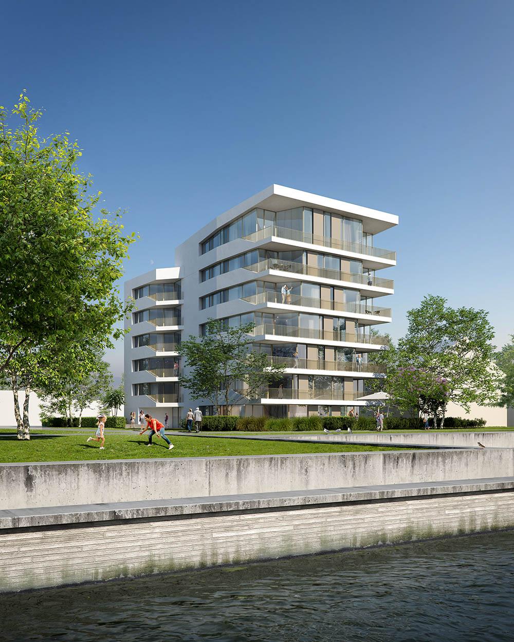 Neubau Elblofts Lutherstadt Wittenberg